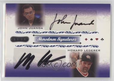 2007 Razor Poker - Showdown Signatures #SS-52 - John Juanda, Howard Lederer