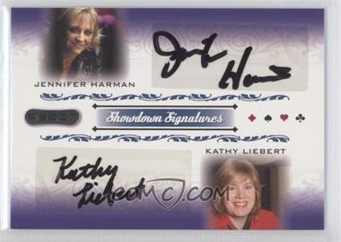 2007 Razor Poker - Showdown Signatures #SS-71 - Jennifer Harman, Kathy Liebert