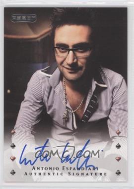 2010 Razor Poker - [Base] - [Autographed] #1 - Antonio Esfandiari