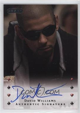2010 Razor Poker - [Base] - [Autographed] #10 - David Williams