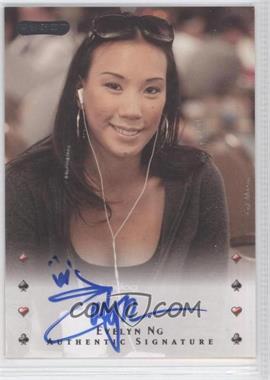 2010 Razor Poker - [Base] - [Autographed] #13 - Evelyn Ng