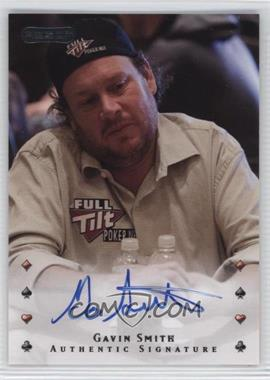 2010 Razor Poker - [Base] - [Autographed] #14 - Gavin Smith