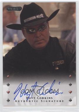 2010 Razor Poker - [Base] - [Autographed] #15 - Hoyt Corkins