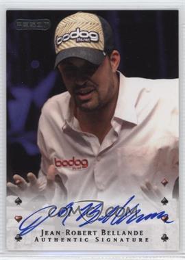 2010 Razor Poker - [Base] - [Autographed] #20 - Jean-Robert Bellande
