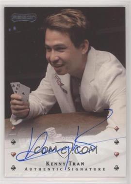 2010 Razor Poker - [Base] - [Autographed] #25 - Kenny Tran