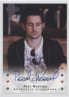2010 Razor Poker - [Base] - [Autographed] #34 - Paul Wasicka