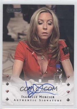 2010 Razor Poker - [Base] - Gold [Autographed] #17 - Isabelle Mercier /25