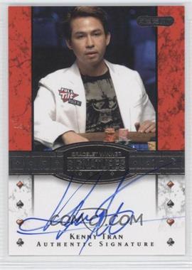 2010 Razor Poker - Bracelet Winner Signatures - [Autographed] #BH-20 - Kenny Tran