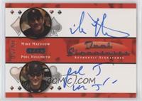 Mike Matusow, Phil Hellmuth #/50