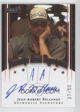 2010 Razor Poker - Favorite Hand Signatures - [Autographed] #FHS-23 - Jean-Robert Bellande /50