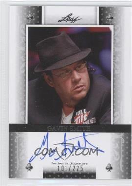 2011 Leaf - [Base] - Black Clubs #BA-GS1 - Gavin Smith /225