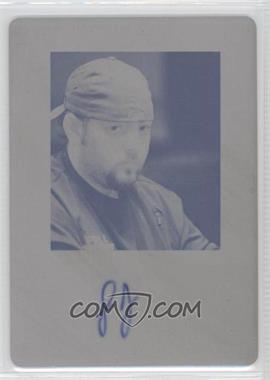 2011 Leaf - [Base] - Printing Plate Black [Autographed] #BA-SF1 - Scott Fischman /1