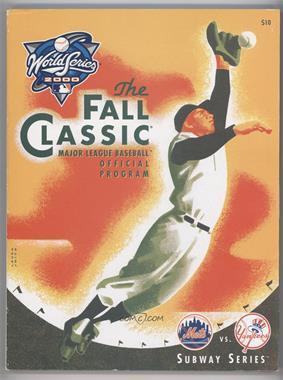 1903-Now World Series Programs - [Base] #2000 - New York Yankees vs. New York Mets [GoodtoVG‑EX]