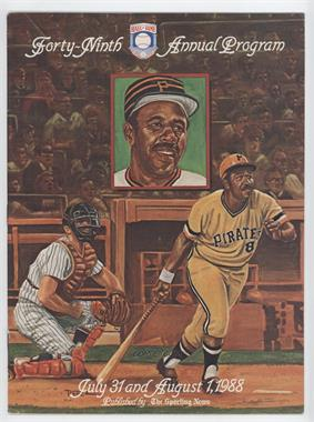 1939-Now Baseball Hall of Fame Induction Ceremonies - Program #49 - 1988 (Willie Stargell)