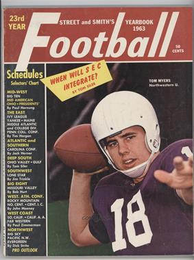 1940-2007 Street and Smith's Football Yearbook - [Base] #23 - 1963 (Tom Myers)
