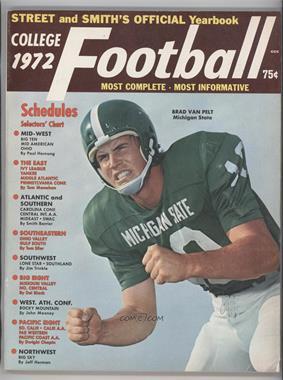 1940-2007 Street and Smith's Football Yearbook - [Base] #32 - 1972 (Brad Van Pelt)
