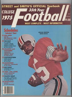 1940-2007 Street and Smith's Football Yearbook - [Base] #35 - 1975 (Archie Griffin) [Good to VG‑EX]