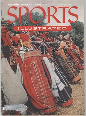 1954 Sports Illustrated - [Base] #8-23 - Row of golf bags [Good to VG‑EX]