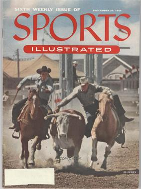 1954 Sports Illustrated - [Base] #9-20 - Rodeo [Noted]