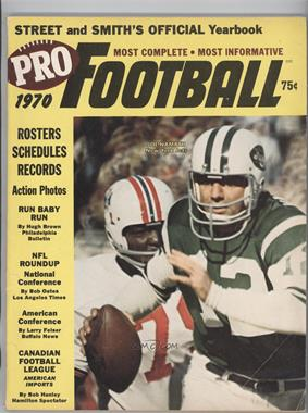 1963-2007 Street and Smith's Pro Football Yearbook - [Base] #8.1 - 1970 (Joe Namath) (Eastern Regional cover) [Good to VG‑EX]