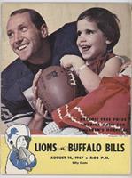 vs. Buffalo Bills (Wayne Walker) [GoodtoVG‑EX]