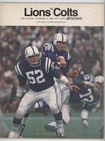 vs. Baltimore Colts Team (Johnny Unitas)