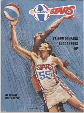 1969-70 Los Angeles Stars - Game Programs #3-20 - vs. New Orleans Buccaneers [Good to VG‑EX]