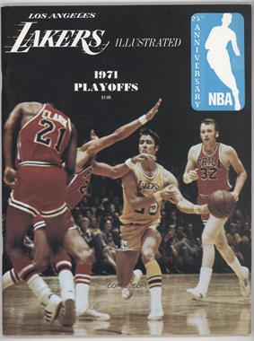 1970-71 Los Angeles Lakers - Lakers Illustrated #PLAY - 1971 Playoffs (Gail Goodrich)