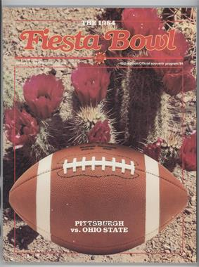 1971-Now Fiesta Bowl - Game Programs #13 - 1984 (Pittsburgh Panthers vs. Ohio State Buckeyes)