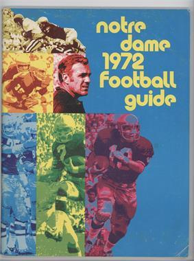 1972 Notre Dame Fighting Irish - Football Guide #NDFI - Notre Dame Fighting Irish [GoodtoVG‑EX]