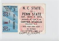 vs. Penn State Nittany Lions