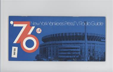 1976 New York Yankees - Press Guide #NYYA - Yankee Stadium