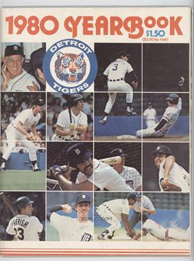 1980 Detroit Tigers - Yearbook #DETI - Detroit Tigers Team
