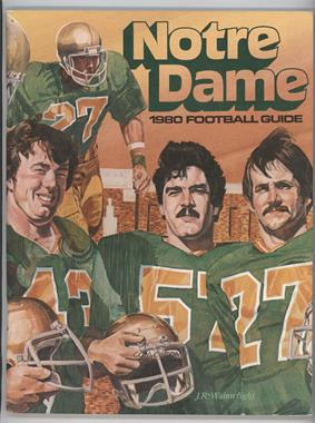 1980 Notre Dame Fighting Irish - Football Guide #NDFI - Bob Crable