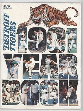 1981 Detroit Tigers - Yearbook #DETI - Detroit Tigers Team [Good to VG‑EX]