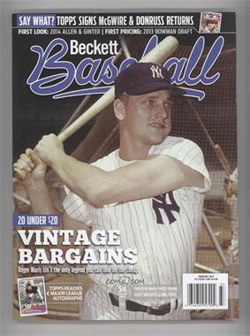 1984-Now Beckett Baseball - [Base] #02-14 - February 2014 (Roger Maris)