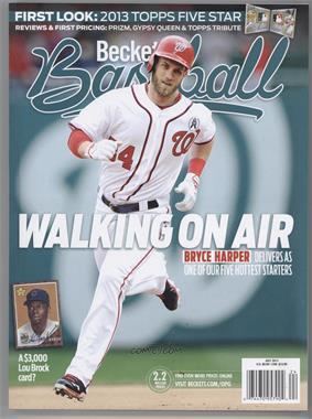 1984-Now Beckett Baseball - [Base] #07-13 - July 2013 (Bryce Harper)