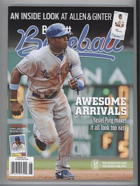 1984-Now Beckett Baseball - [Base] #09-13 - September 2013 (Yasiel Puig)