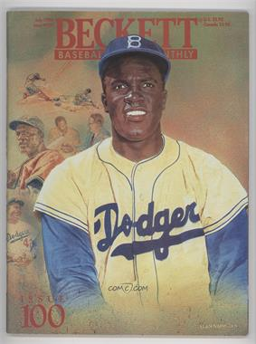 1984-Now Beckett Baseball - [Base] #100 - July 1993 (Jackie Robinson)