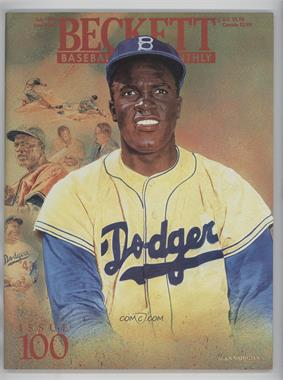 1984-Now Beckett Baseball - [Base] #100 - July 1993 (Jackie Robinson)