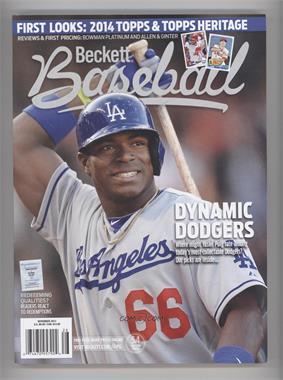1984-Now Beckett Baseball - [Base] #11-13 - November 2013 (Yasiel Puig)