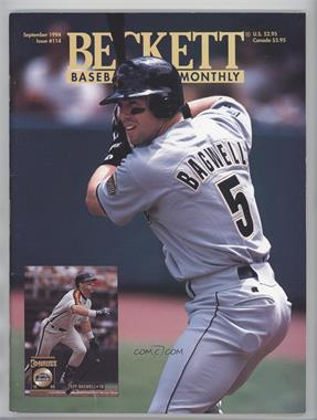 1984-Now Beckett Baseball - [Base] #114 - September 1994 (Jeff Bagwell) [Good to VG‑EX]