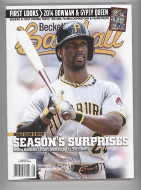 1984-Now Beckett Baseball - [Base] #12-13 - December 2013 (Andrew McCutchen)