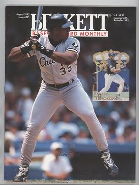 1984-Now Beckett Baseball - [Base] #125 - August 1995 (Frank Thomas)