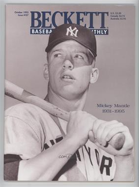 1984-Now Beckett Baseball - [Base] #127 - October 1995 (Mickey Mantle) [GoodtoVG‑EX]