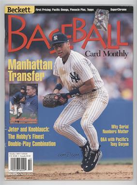 1984-Now Beckett Baseball - [Base] #163 - October 1998 (Derek Jeter) [Good to VG‑EX]
