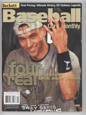 1984-Now Beckett Baseball - [Base] #190 - January 2001 (Derek Jeter)