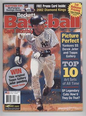 1984-Now Beckett Baseball - [Base] #206 - May 2002 (Derek Jeter) [Noted]