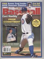 August 2002 (Mark Prior) [Good to VG‑EX]