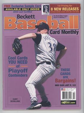 1984-Now Beckett Baseball - [Base] #211 - October 2002 (Curt Schilling) [Noted]